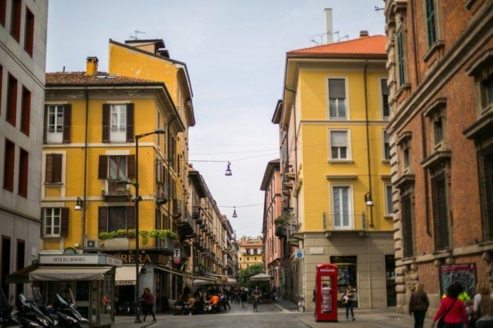 Top 8 choses à voir à Milan, Quartier Brera, Italie