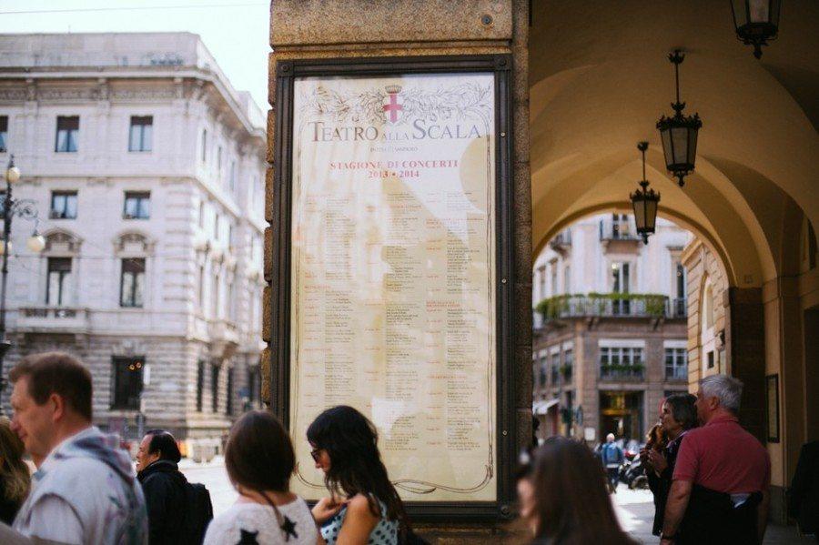 Top 9 choses à voir à Milan, Théâtre de la Scala, Italie