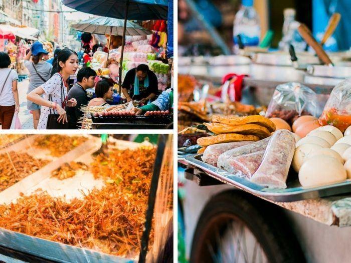 Cuisine de rue Bangkok, voyage Thaïlande