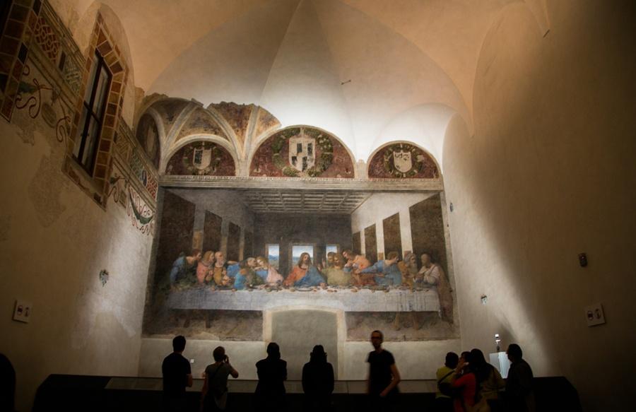 Top 11 choses à voir à Milan, La Cène de léonard de Vinci, Italie