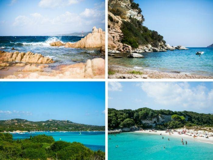 Plages de Bonifacio : plage tonnara, plage canetto, piantarella et petit sperone