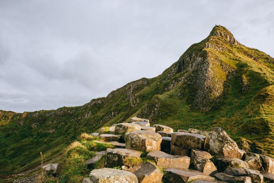 Les collines de la Chaussée des Géants