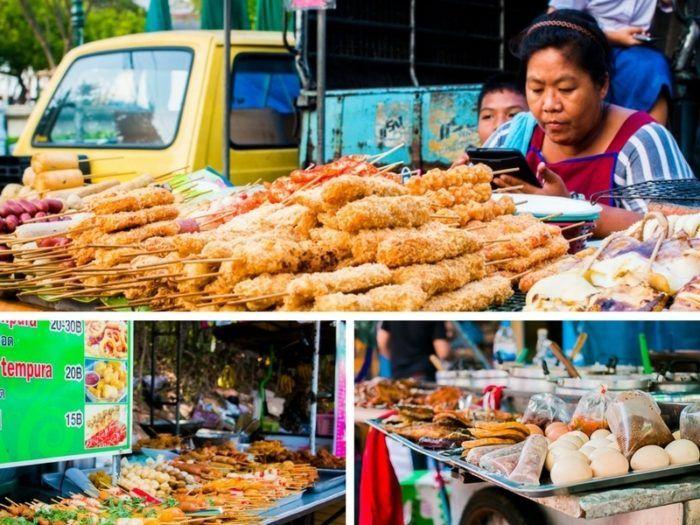 Top 4 chose à faire en Thaïlande, nourriture de rue