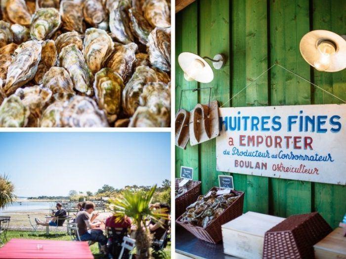 Dégustation d'huîtres Chez Boulan, Lège-Cap Ferret