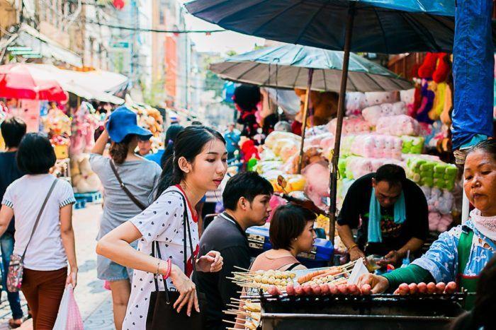 TOP 12 chose à faire en Thaïlande, Chinatown, nourriture de rue