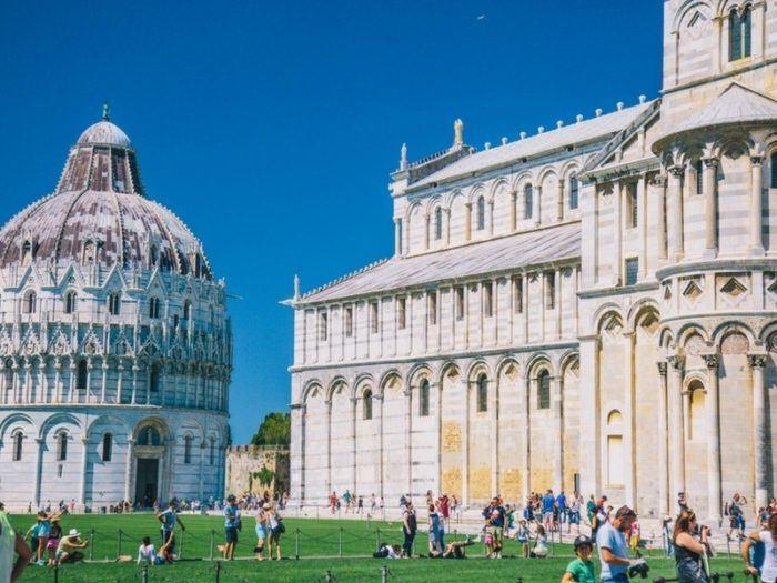 Visiter le Baptistère de Pise et son Duomo
