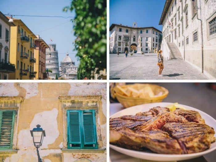Notre visite à Pise, charmante ville d'Italie