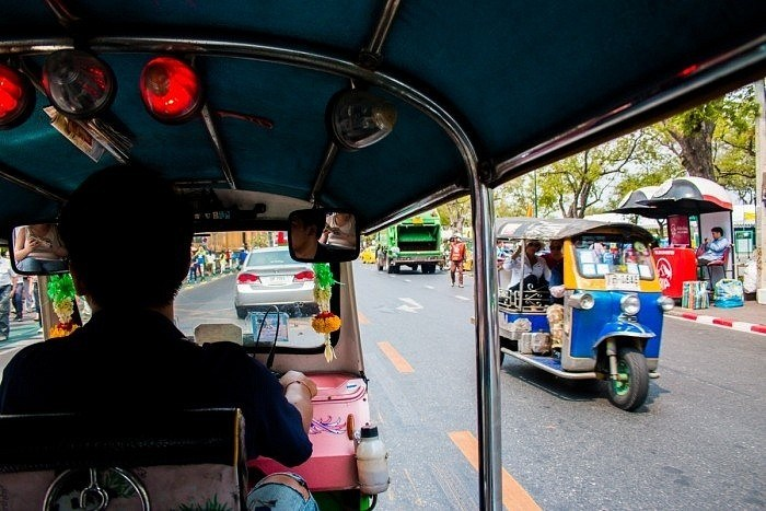 Top 9 chose à faire en Thaïlande, Tuk tuk
