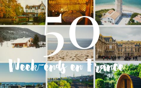 50 idées weekends en France