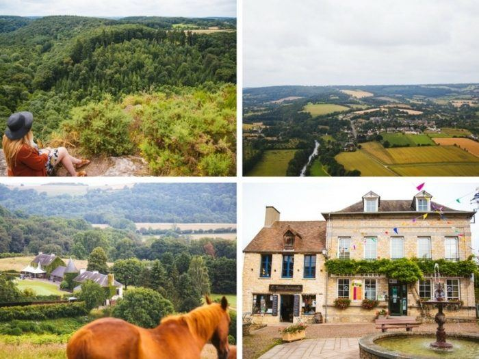Week-end en Suisse normande