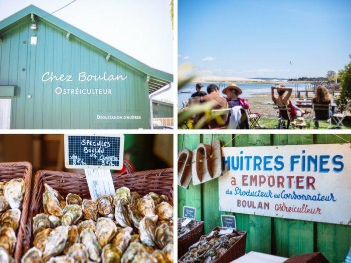 Dégustation d'huîtres Chez Boulan