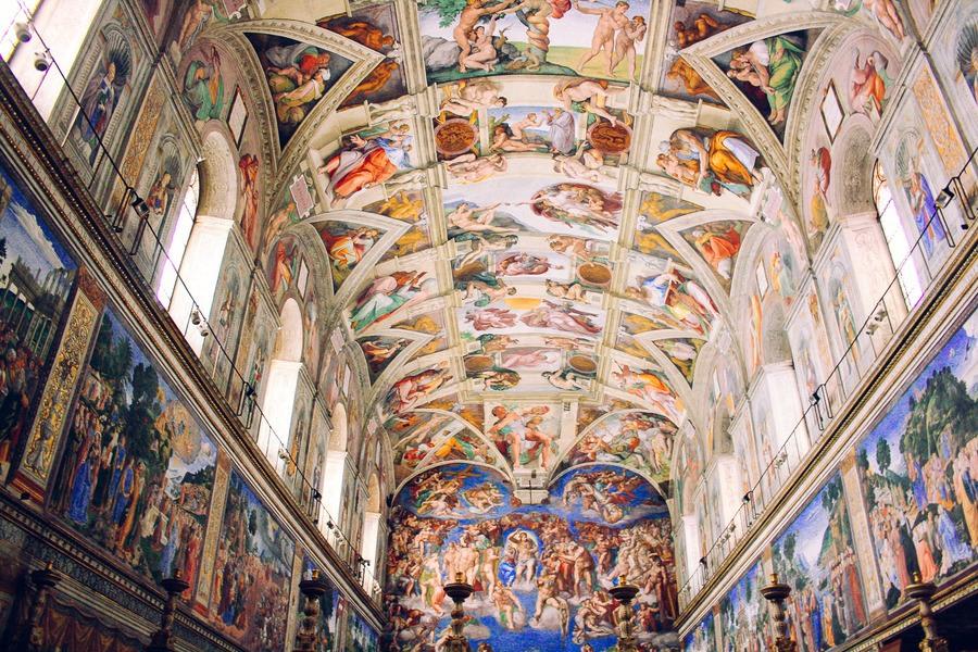 La chapelle Sixtine à Rome
