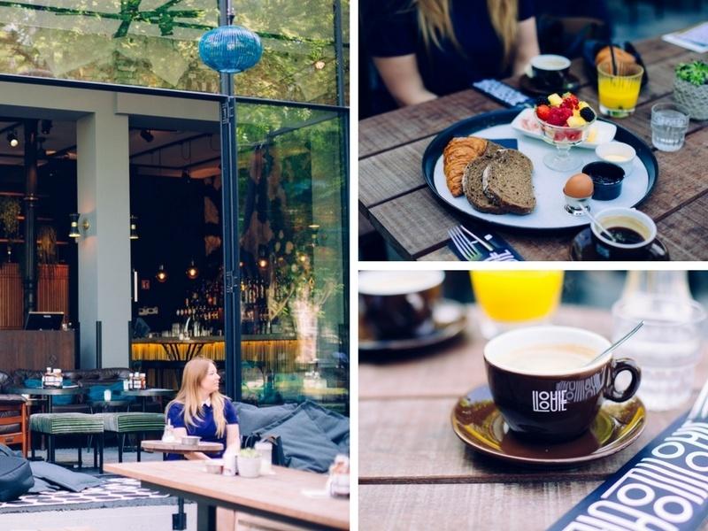 Petit-déjeuner au Louie Louie à Amsterdam
