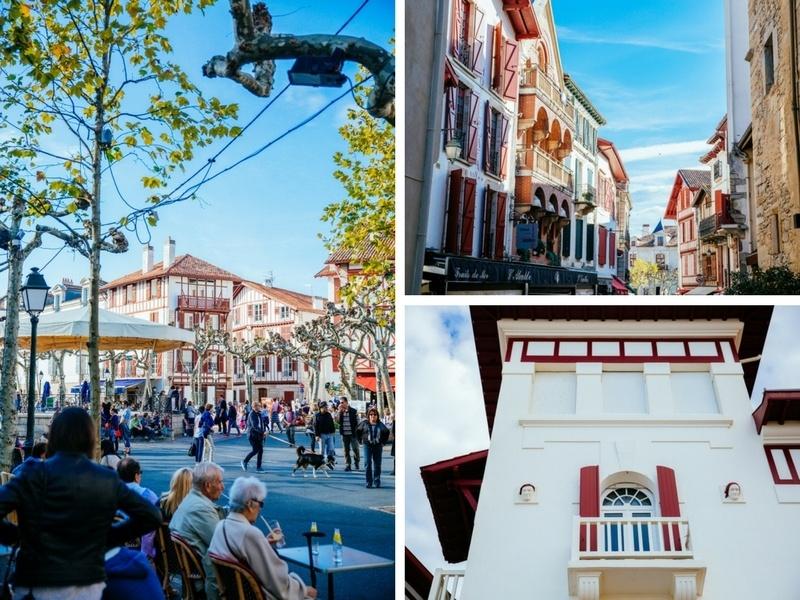 Les ruelles de Saint-Jean-de-Luz, au Pays Basque