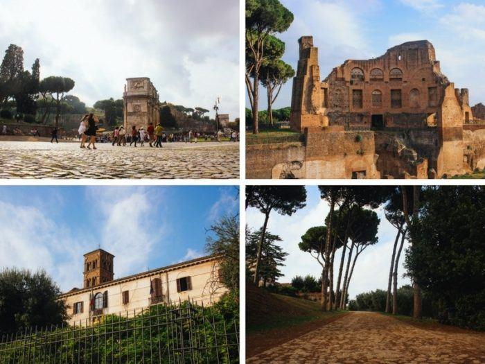 Visiter le Palatin à Rome