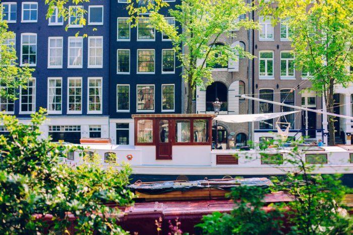 Amsterdam et ses canaux