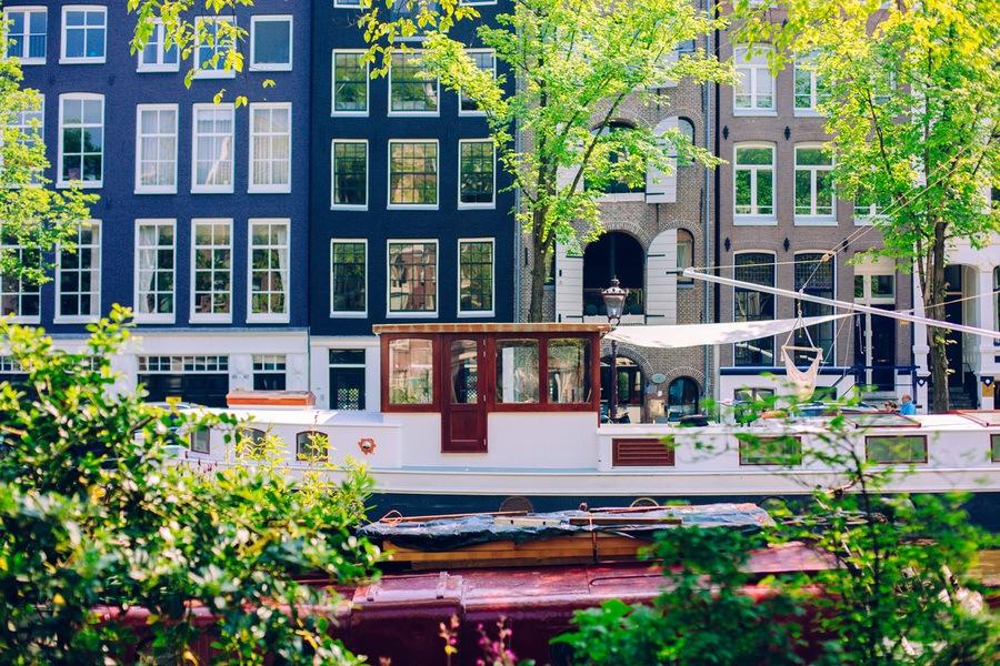 Le quartier Jordaan à Amsterdam