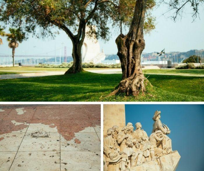 Le monument des découvertes à Lisbonne