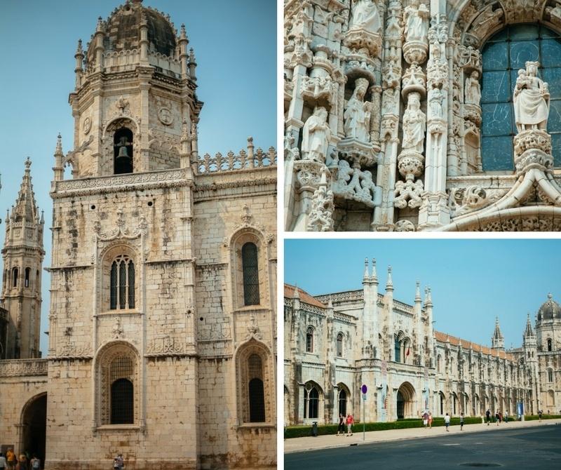 Mosteiro dos Jeronimos à Lisbonne