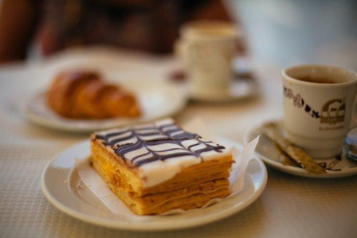 Petit-déjeuner à Lisbonne