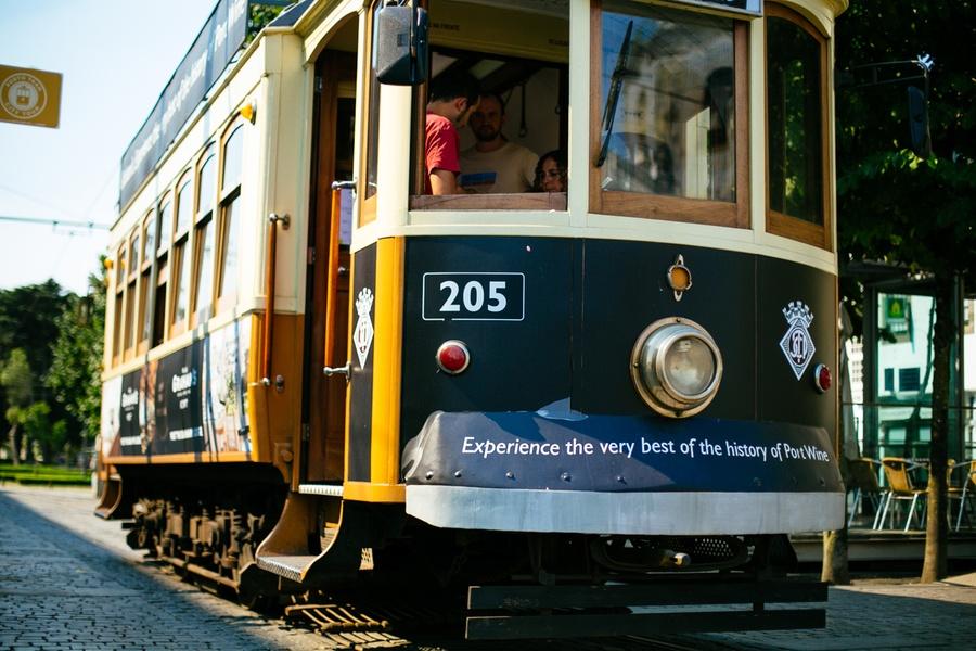 Le tramway de Porto