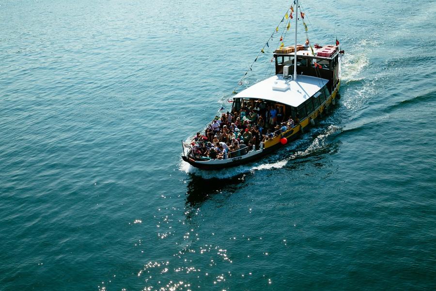 En bateau sur le Douro, à Porto
