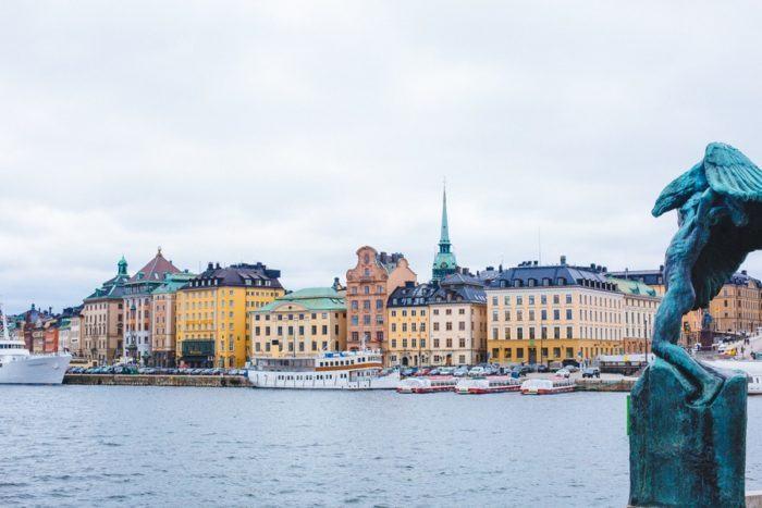Quartier Gamla Stan à Stockholm
