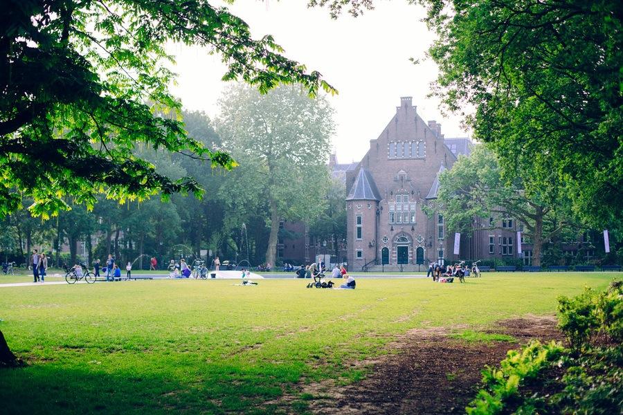 L'Oosterpark à Amsterdam