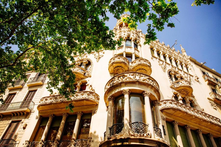 Le quartier de l'Eixample à Barcelone