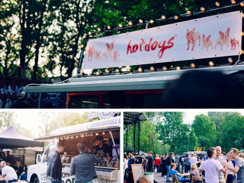 Food truck du Festival Kookt Amsterdam