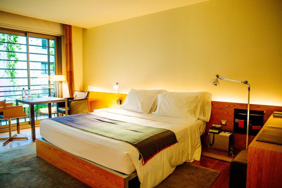 La chambre de l'Hôtel OMM Barcelone