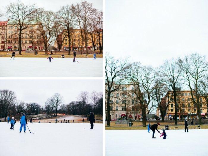 Patiner à Stockholm