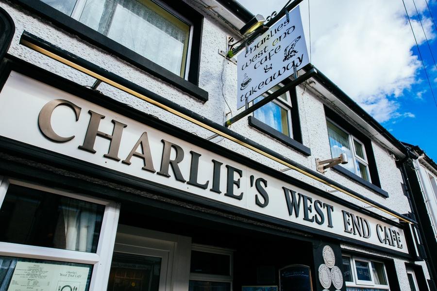 Charlie's West End Cafe en Irlande
