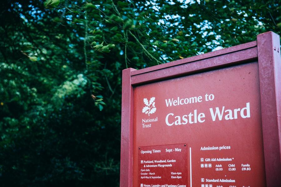 Castle Ward en Irlande