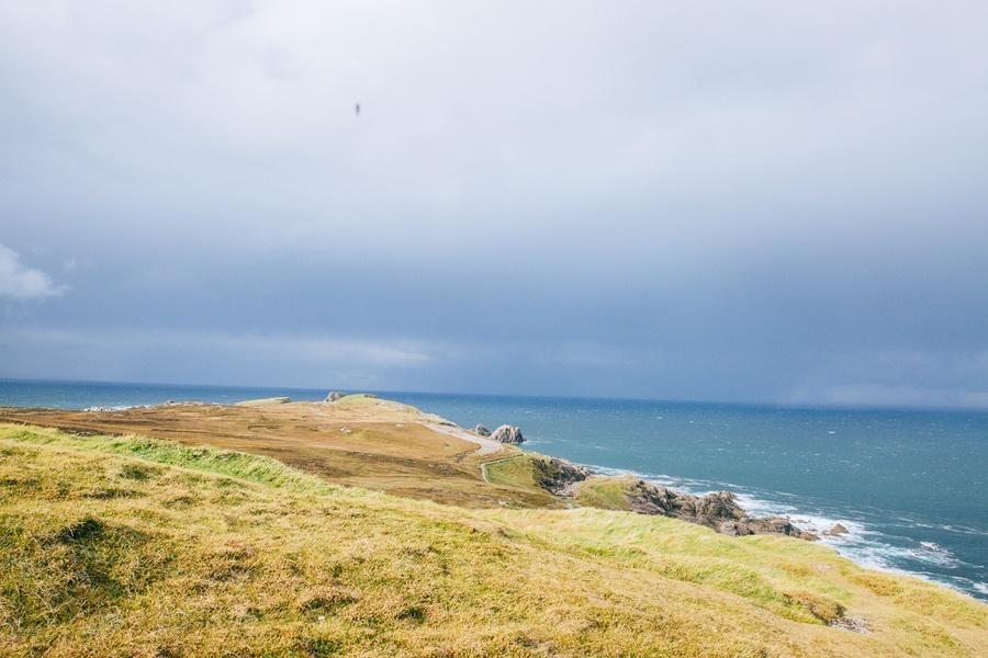 Le sentier de la Péninsule de Malin Head en Irlande