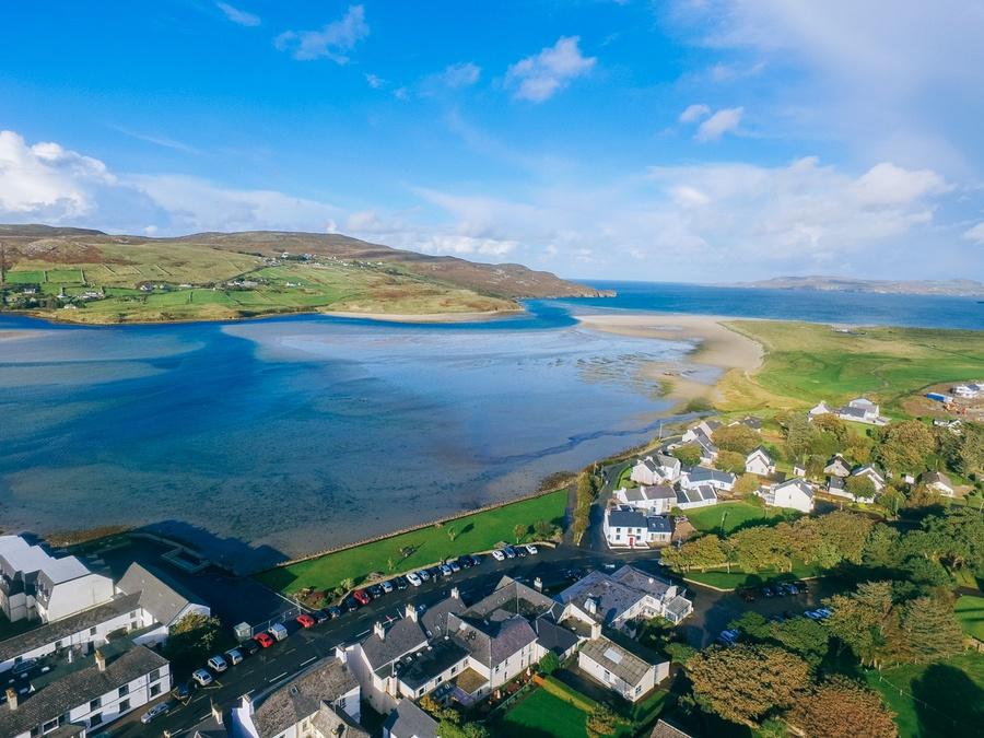 Dunfanaghy en Irlande