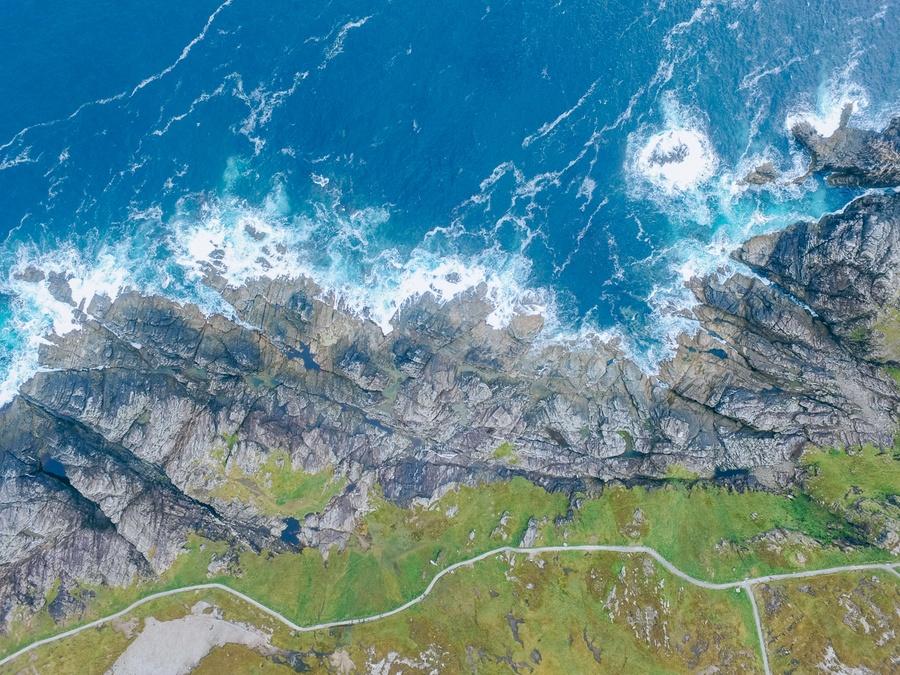 La péninsule de Malin Head en Irlande