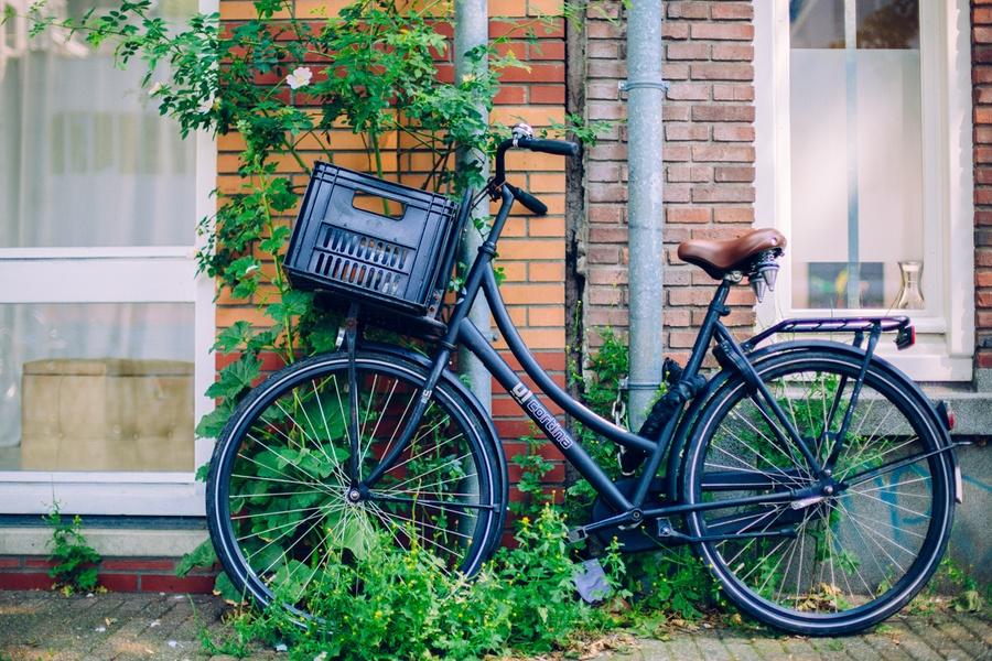 En vélo à Amsterdam
