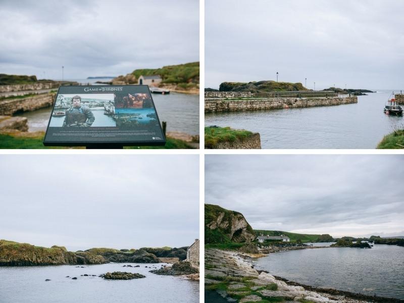 Ballintoy Harbour en Irlande