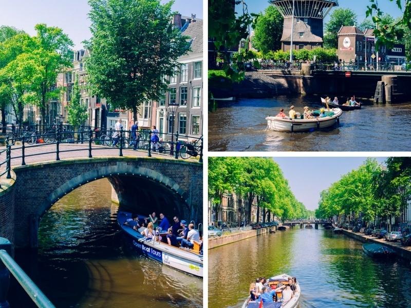 Balade bateau à Amsterdam