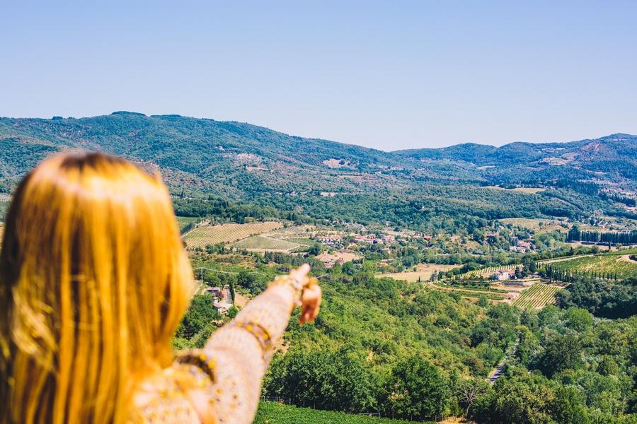 SR 222 vallée du Chianti
