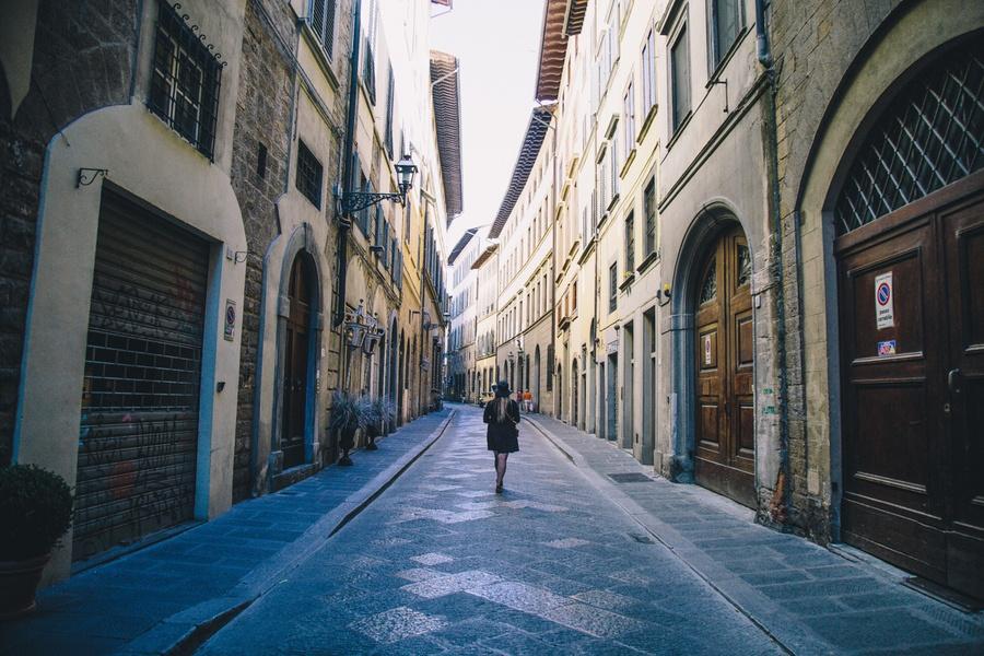 Quartier Oltrarno Florence