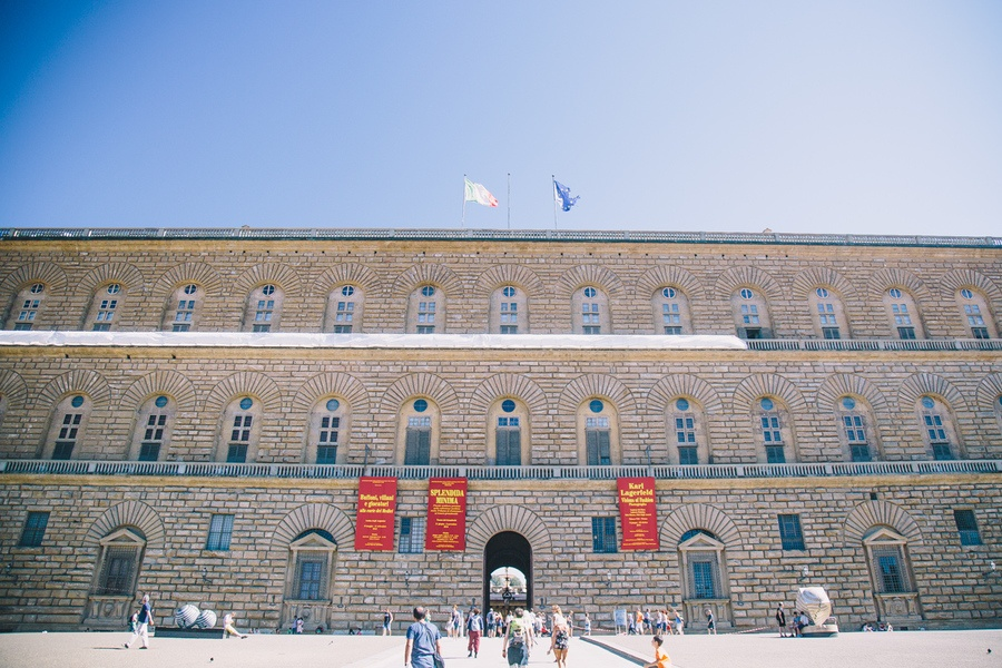 Palazzo Pitti et Jardins de Boboli Florence