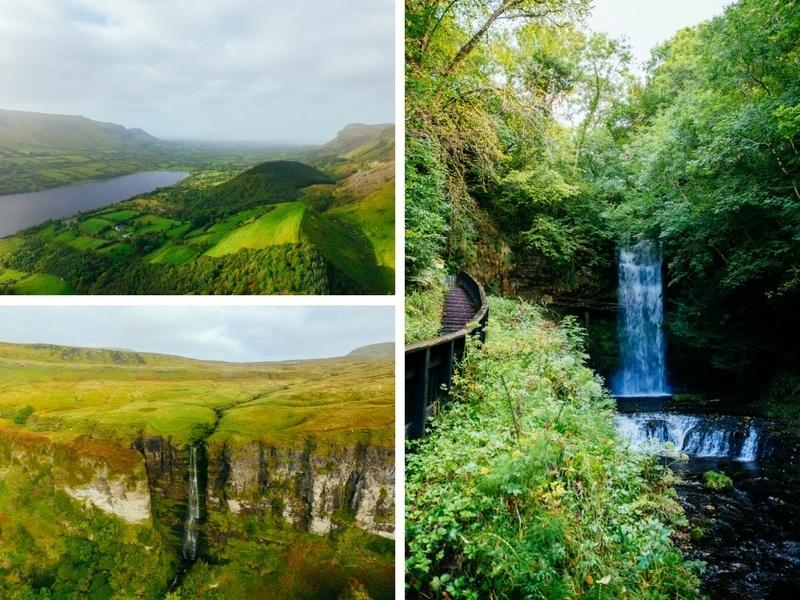 Randonnée à Glencar Lough en Irlande