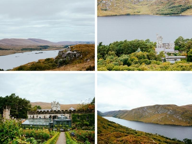 Glenveagh Castle en Irlande