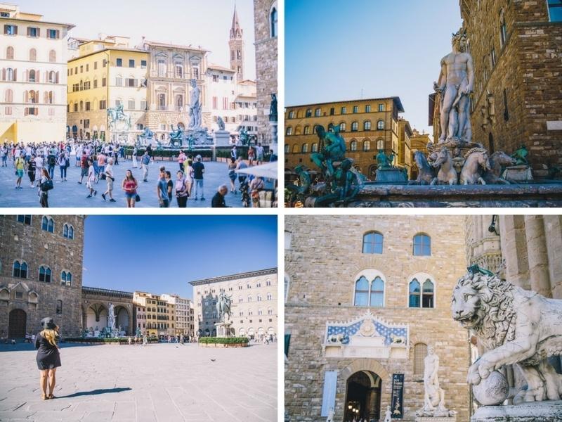 Visiter la Piazza della Signoria à Florence en Toscane