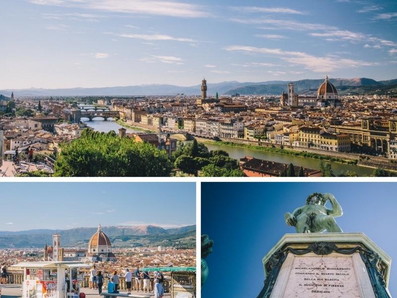 Visiter la Piazza Michaelangelo à Florence