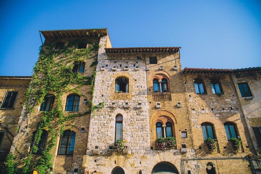 San Gimignano façades