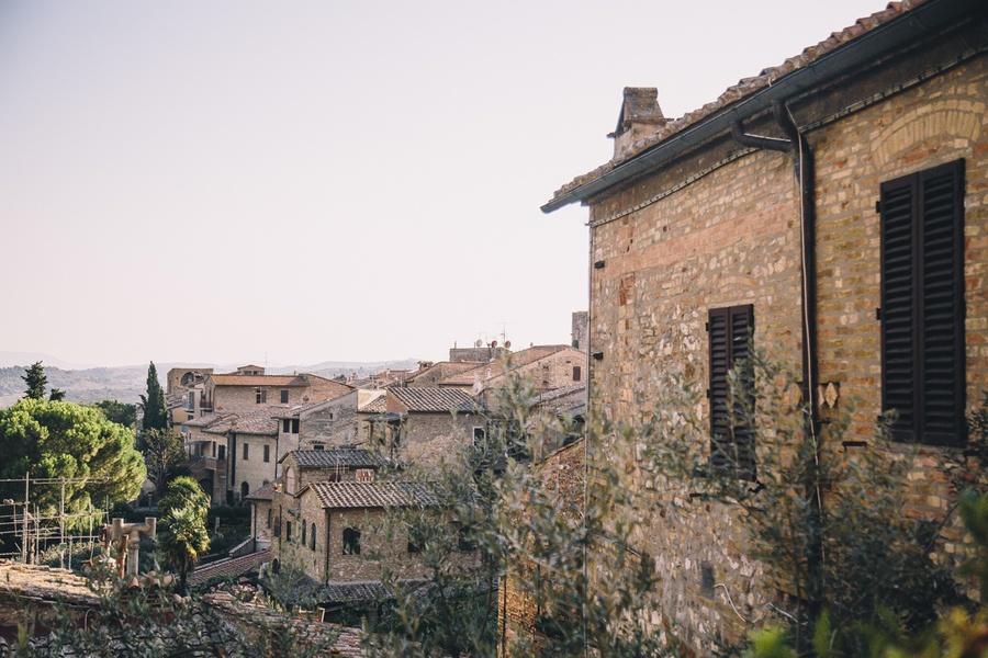 San Gimignano vallée du Chianti