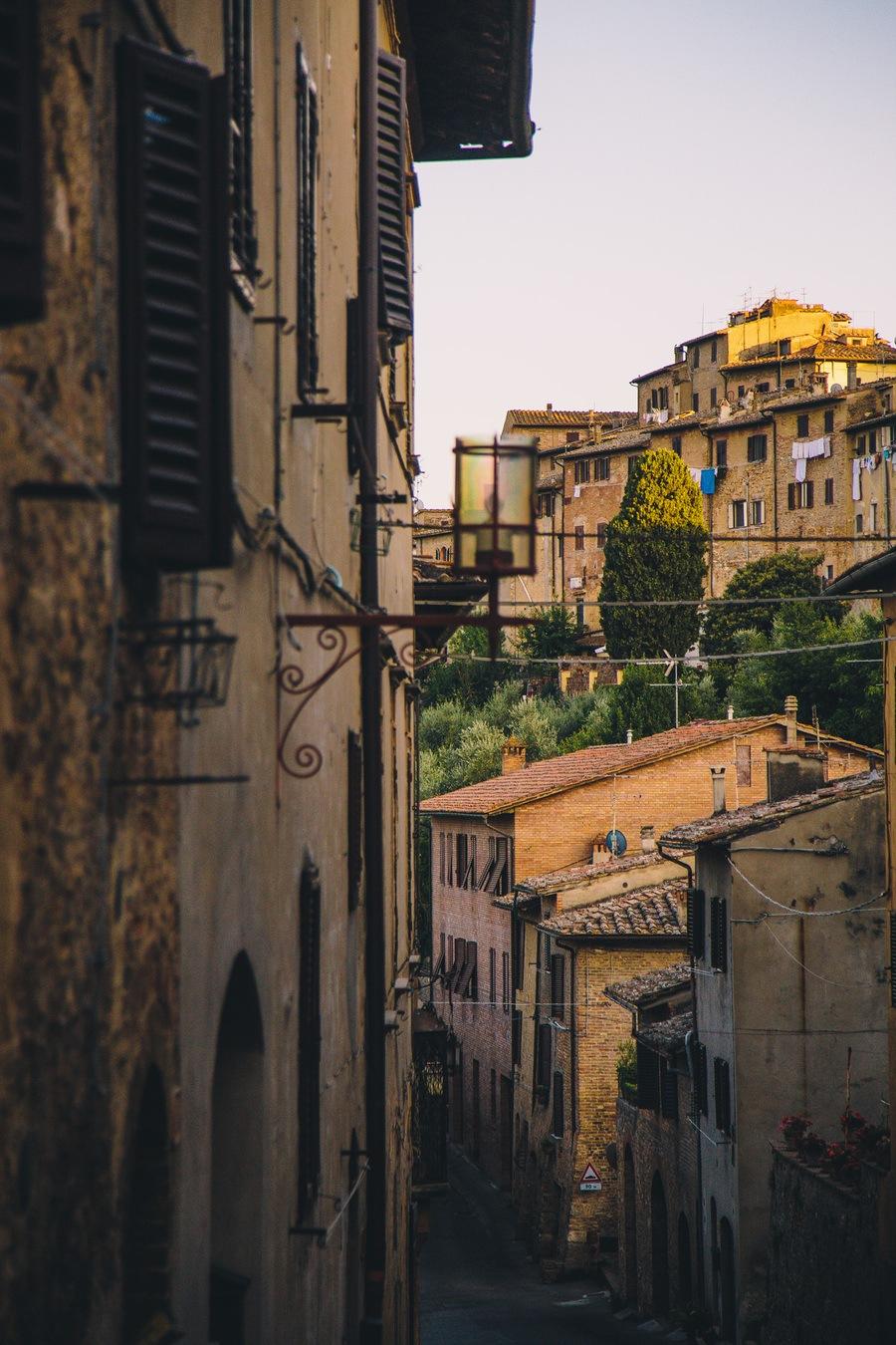 Les ruelles de San Gimignano